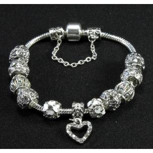 "Браслет ""Pandora Silver Glitter"""
